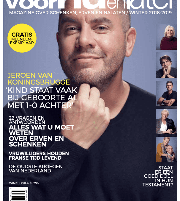 i-Finish in Magazine Voor Nu en Later